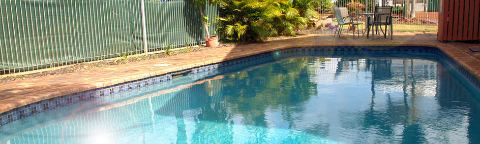 Relax by the swimming pool at Lancaster Court Motel Annerley Brisbane