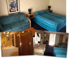 Double Room at Lancaster Court Motel
